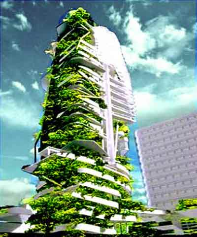 Vertical City Urban Farm